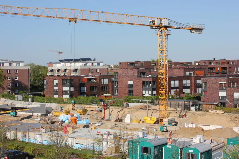 Baustelle Neubau Eigentumswohnungen