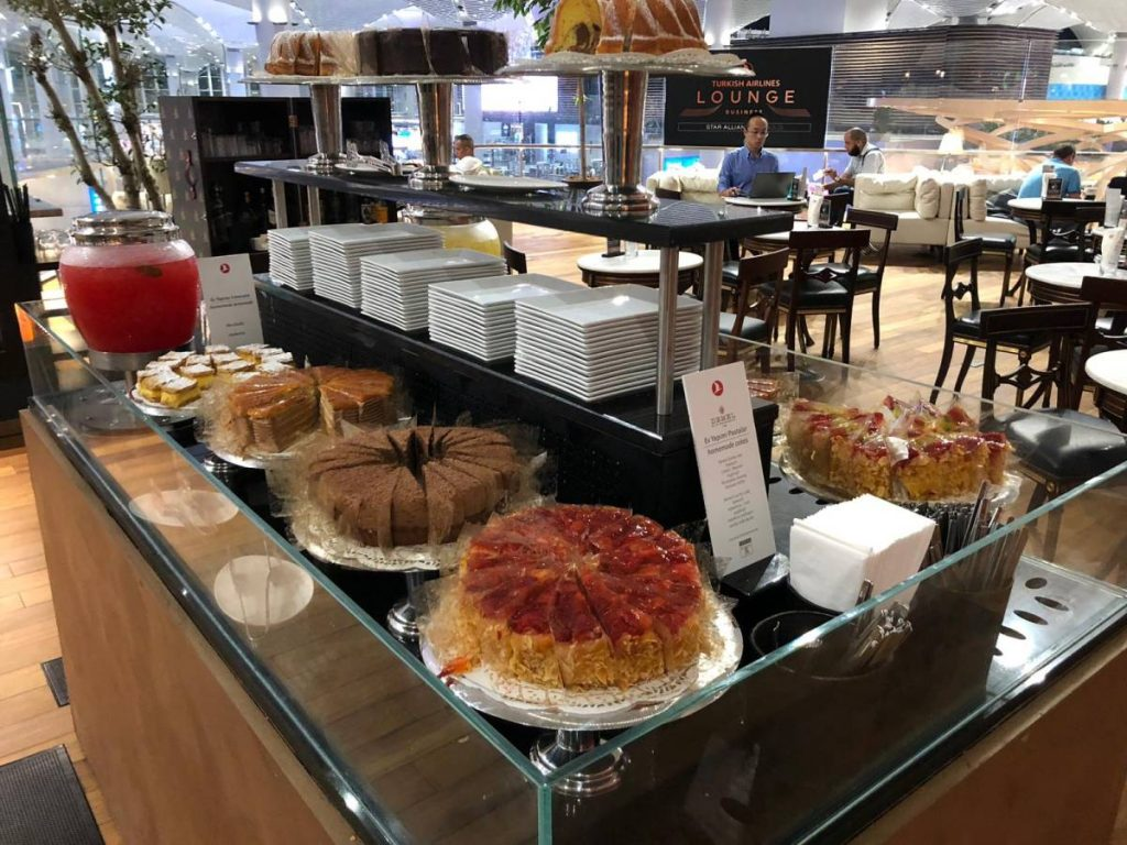 Istanbul Airport Turkish Airlines Lounge Business