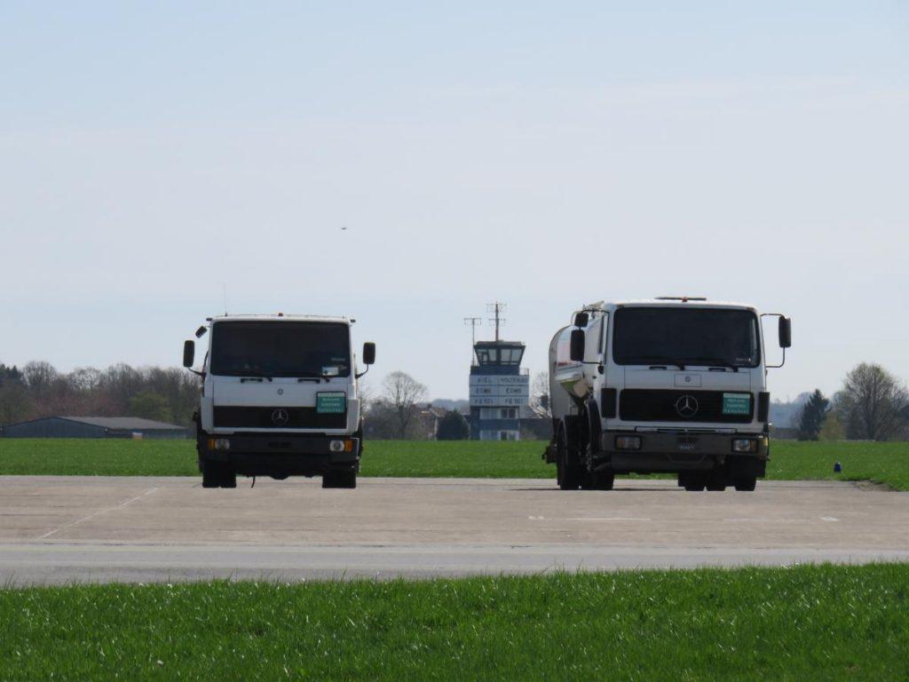 Flughafen Tankfahrzeuge