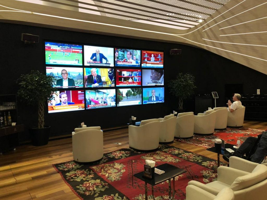 Turkish Airlines Lounge Business Istanbul Airport