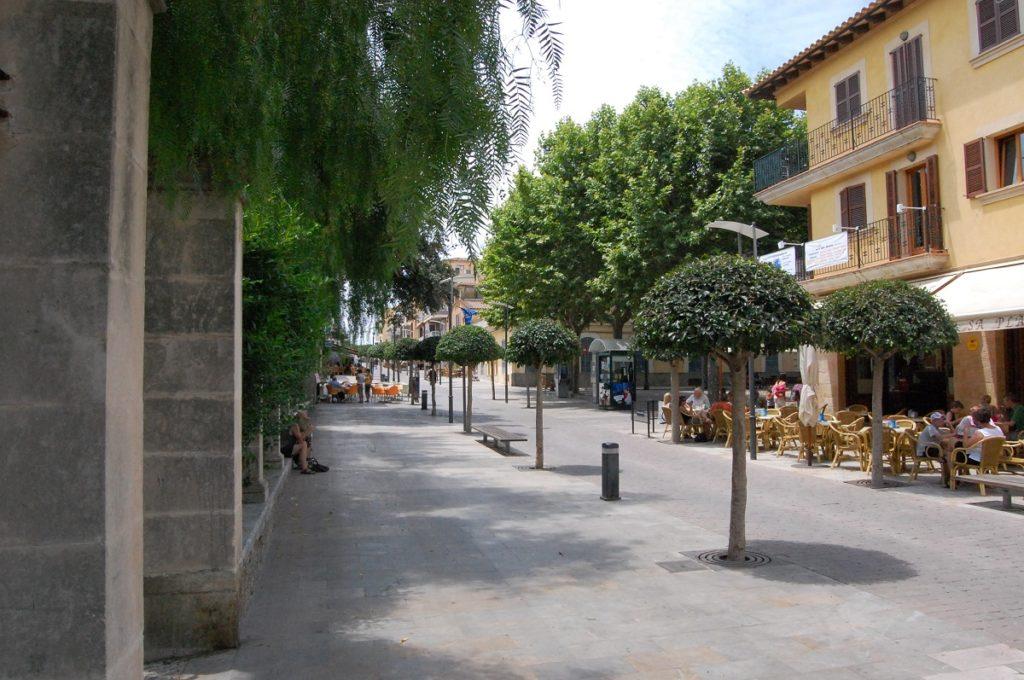 Mallorca Cafés & Restaurants in der Fußgängerzone