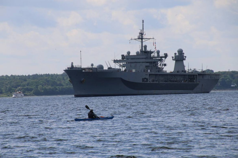 USS Mount Whitney Kriegsschiff BALTOPS